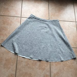 Philosophy Stretch Gray Circle Skirt Size 12
